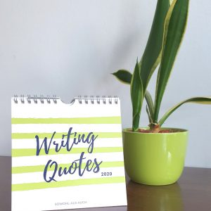 Writing Quotes Tischkalender 2020