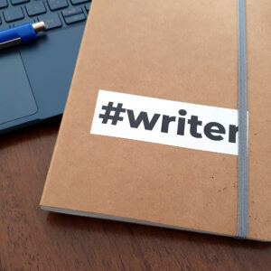 Sticker #writer
