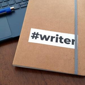 Sticker #writer